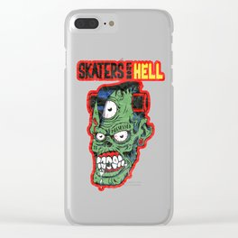 Skaters From Hell!!! Clear iPhone Case
