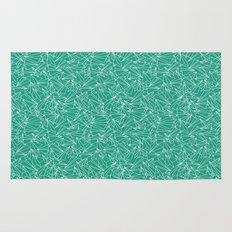 Schoolyard Aviation Green Rug