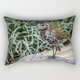 Speckled Bird Rectangular Pillow