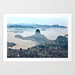 Rio de Janeiro, Brazil Art Print