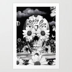 Dreaming of daisies Art Print
