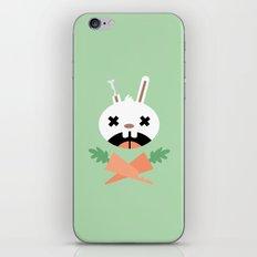 Bunny Death iPhone & iPod Skin