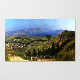 Sea of Galille (kinneret) Canvas Print