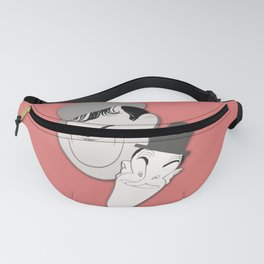 Laurel and Hardy Caricature Artwork, Based on the Original - Another Fine Mess Fanny Pack