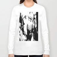 sketch Long Sleeve T-shirts featuring sketch by Kathead Tarot/David Rivera