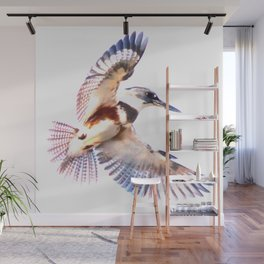 Colorful Kingfisher Wall Mural