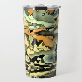 Rusty abstract Travel Mug