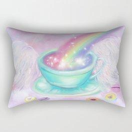 Rainbow Tea Rectangular Pillow