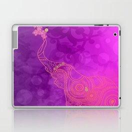 Pink Purple & Gold Good Luck Elephant Laptop & iPad Skin