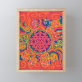 Meditative State Framed Mini Art Print