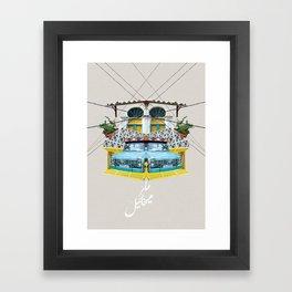 Fruit Car - Beirut Framed Art Print