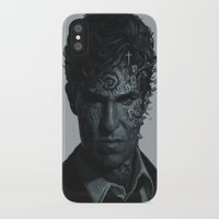 true detective iPhone & iPod Cases featuring True Detective Poster by yurishwedoff