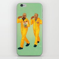 breaking bad iPhone & iPod Skins featuring Breaking Bad by Dave Collinson