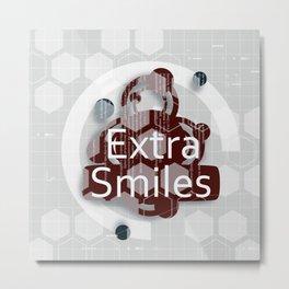 Extra smiles Metal Print