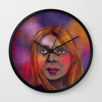 lost in translation Wall Clocks featuring Lost in Translation by alessia deletia colognesi