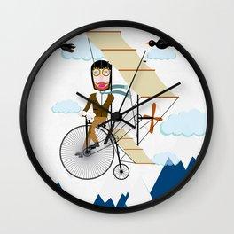 Flying Adventure Wall Clock
