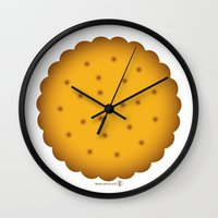 cookie Wall Clocks featuring Cookie. by #pavel_petrov_art2