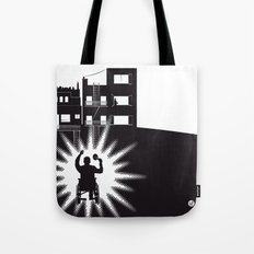 The Black Collection' Window Tote Bag