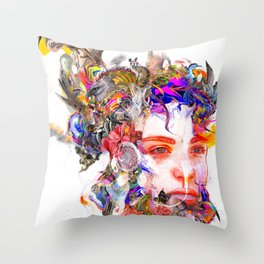 Pray for Australia Throw Pillow