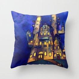 Martin's Castle Throw Pillow