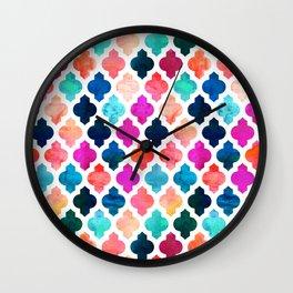 Marrakesh Moroccan Pink #homedecor #Moroccan Wall Clock