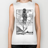 pagan Biker Tanks featuring Pagan practioners by DIVIDUS