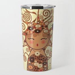 Kokeshi Tree of life Travel Mug