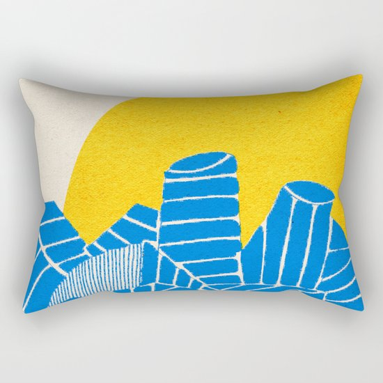 - be nuclear - Rectangular Pillow