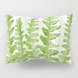 Green Fern Group Pillow Sham