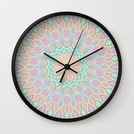 Crystal Magic - Mandala Art Wall Clock