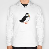 puffin Hoodies featuring Puffin by San F. Yezerskiy