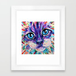 Ragdoll Cat - Cats in Colour 1 Framed Art Print