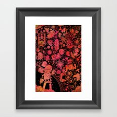 Son of Dooome (red) Framed Art Print
