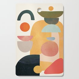 Modern Abstract Art 70 Cutting Board