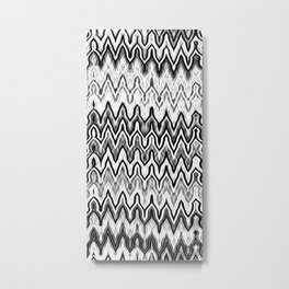 Missoni Style Mono Metal Print