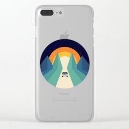 Wonderful Trip Clear iPhone Case