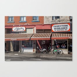 Schwartz's Smoked Meats Canvas Print