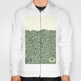 Forest house pattern Hoody
