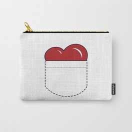 Close to my Heart, Pocket Love - Red Carry-All Pouch