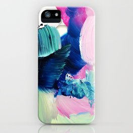Friday Evening (Abstract Painting) iPhone Case