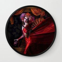 Madame Carnival Wall Clock