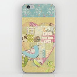 She Expressed Her Faith by Terri Conrad Designs iPhone Skin
