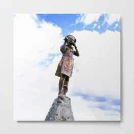 Papua New Guinea Man Metal Print