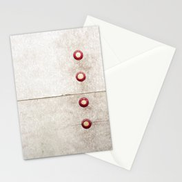 Four on Gray Stationery Cards