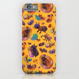 Ants - yellow iPhone Case