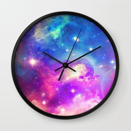 Lost in wonderland Wall Clock