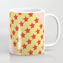 woman of wonder pink hair Coffee Mug