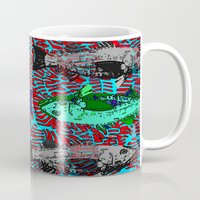 fishing Mugs featuring Fishing by cultclass