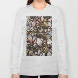 Louis Comfort Tiffany - Decorative stained glass 10. Long Sleeve T-shirt
