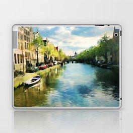Amsterdam Waterways Laptop & iPad Skin